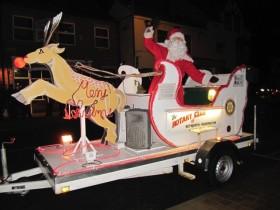 Rotary Santa Float