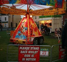 Ruddington Christmas Market 188 Fairground ride