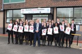 Well Done Rushcliffe School