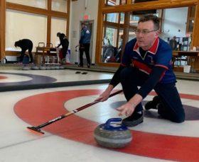 Mark Brown curling