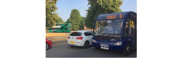 NCT 3 & 10 buses