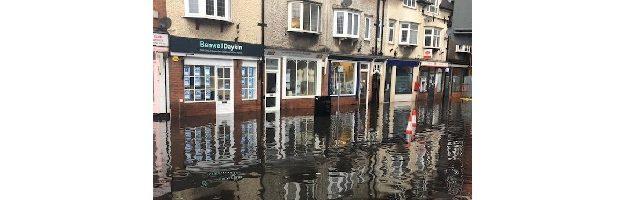 Floods in Ruddington