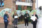 Notts Wildlife Trust with their award
