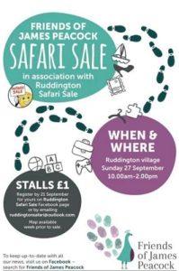 Safari Sale poster