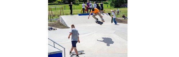 A skatepark