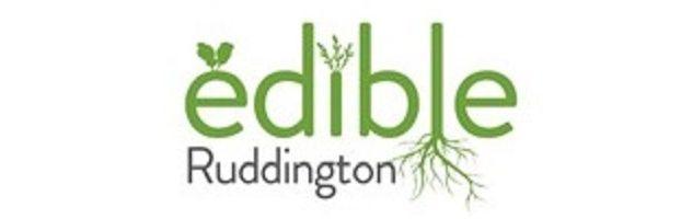 Edible Ruddington logo