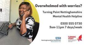 Notts Mental Health Helpline information