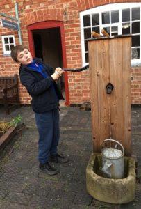 Victorian water pump