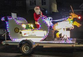 Rotary Santa & Sleigh