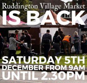 Village Market flyer