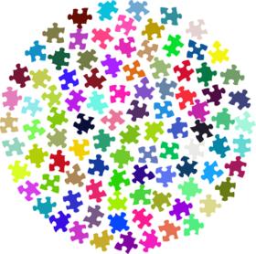 Jigsaw Circle image