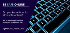 Be Safe Online poster