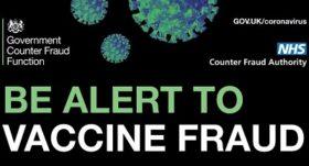 Vaccine fraud poster