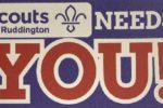 Ruddington 1st Scouts poster