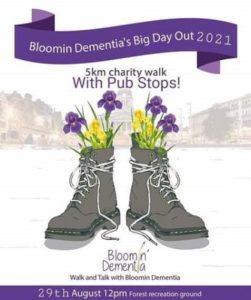 Bloomin; Dementia poster
