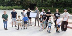 Skate park reopening